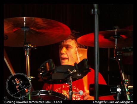 Wes op drums
