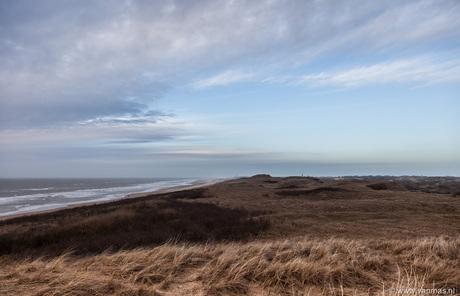 Duinen kijk op Katwijk
