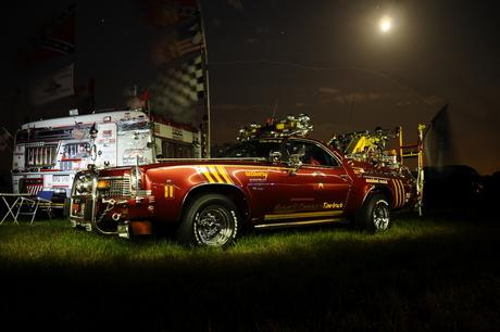 Chevrolet El Camino by night