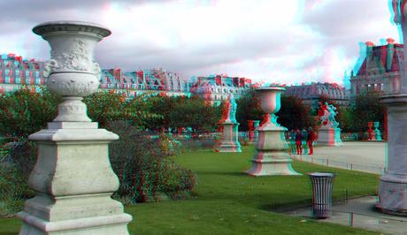 Jardin des Tuileries Pairis 3D