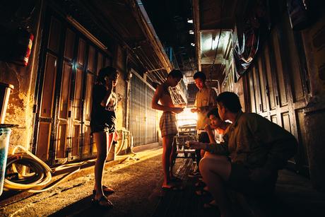 Hangjongeren in Bangkok