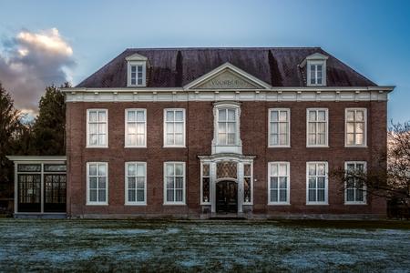 Voorburg na tip - Rijksmonument in Vught, Noord-Brabant - foto door RobMenting op 27-02-2021 - deze foto bevat: lucht, architectuur, gebouw, huis