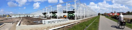 20210501  134323  Mobile Panorama  Nieuwbouw  kwekerij Maasdijk 1 mei 2021