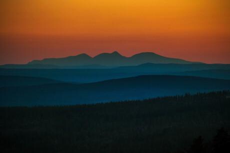 Zweedse bergen