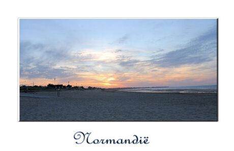 kust lijn normandie.