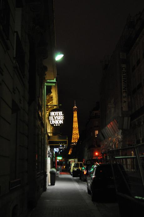 Parijs bij nacht.
