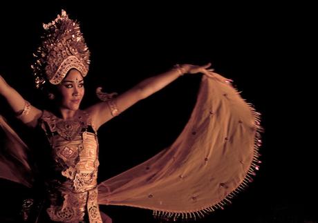Nog een Balinese danseres