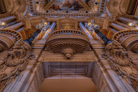 Balkon Paris Garnier Opéra