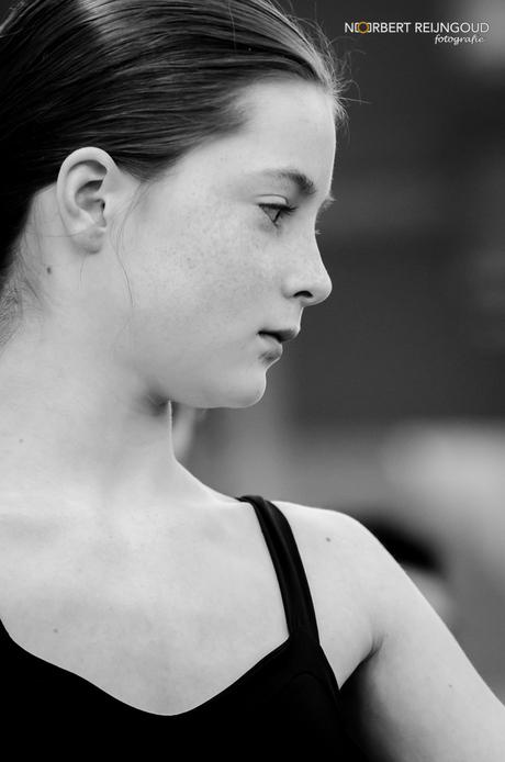 Leerling van het Nationaal Ballet Acedemy