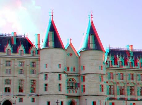Palais de Justice Paris 3D