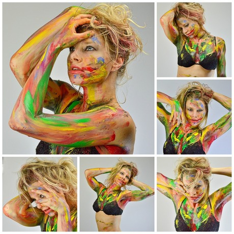 Colorful shoot
