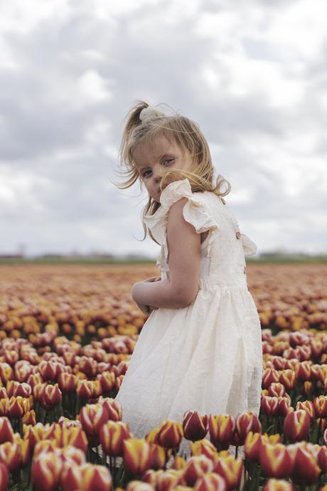 Het tulpen portret