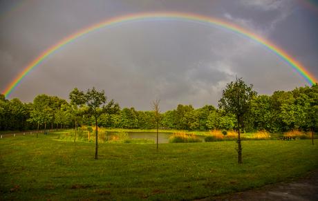 Aan het einde van de regenboog