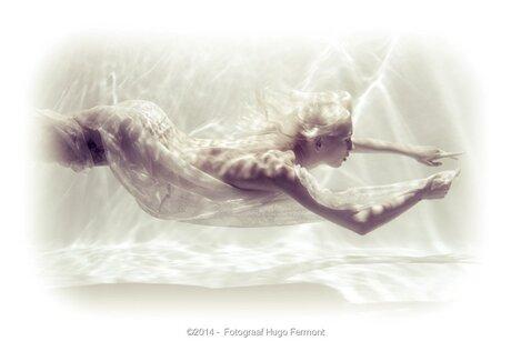 Lenny onderwater 1