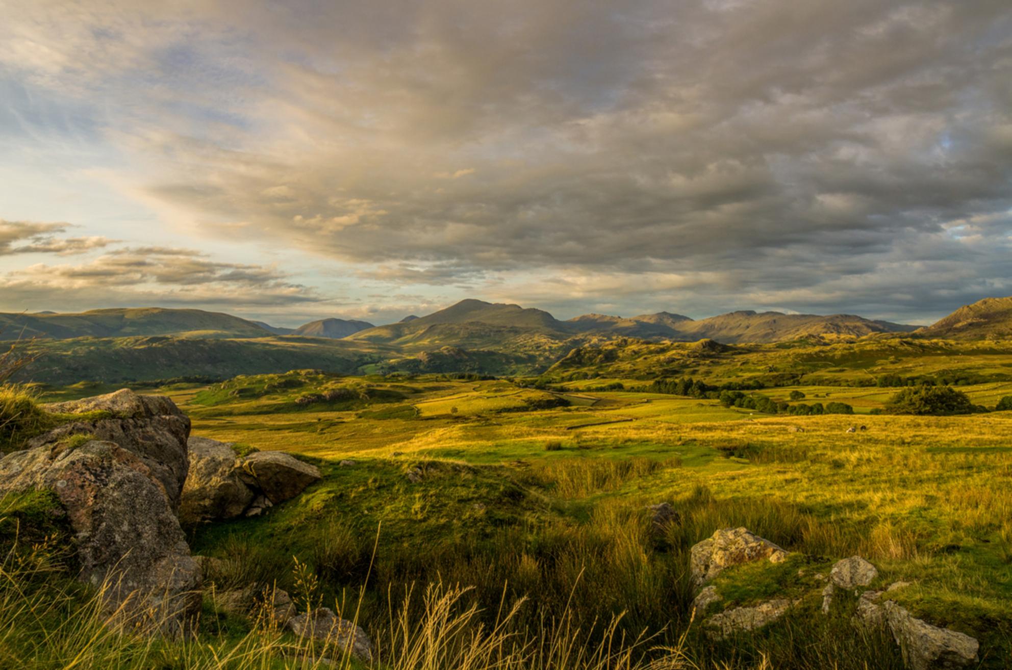 Avond in The Lake District - Avond in Birker Fell - foto door pentaxfan op 28-10-2017
