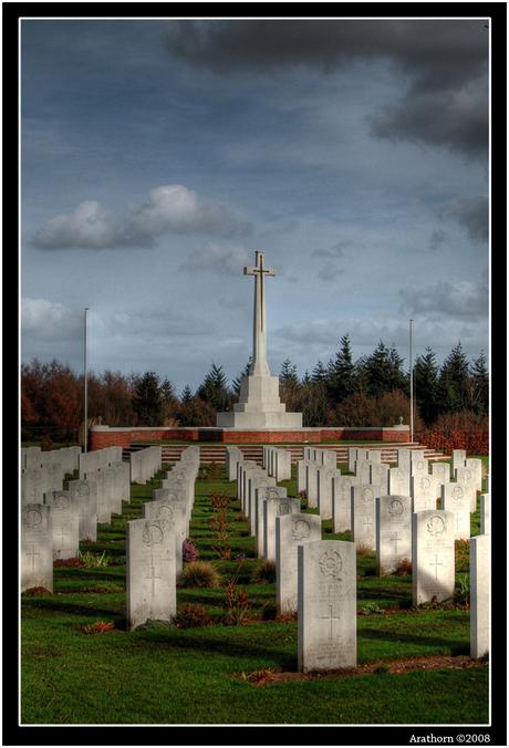 Canadian War Cemetary Groesbeek HDR