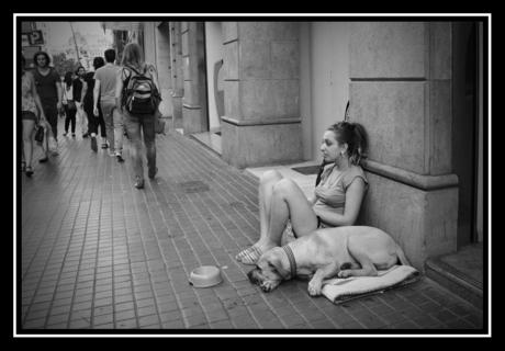Beggar woman 2.