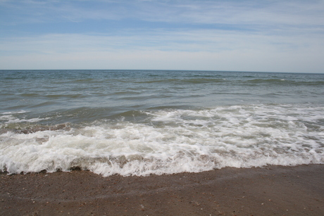 Golven in de Noordzee