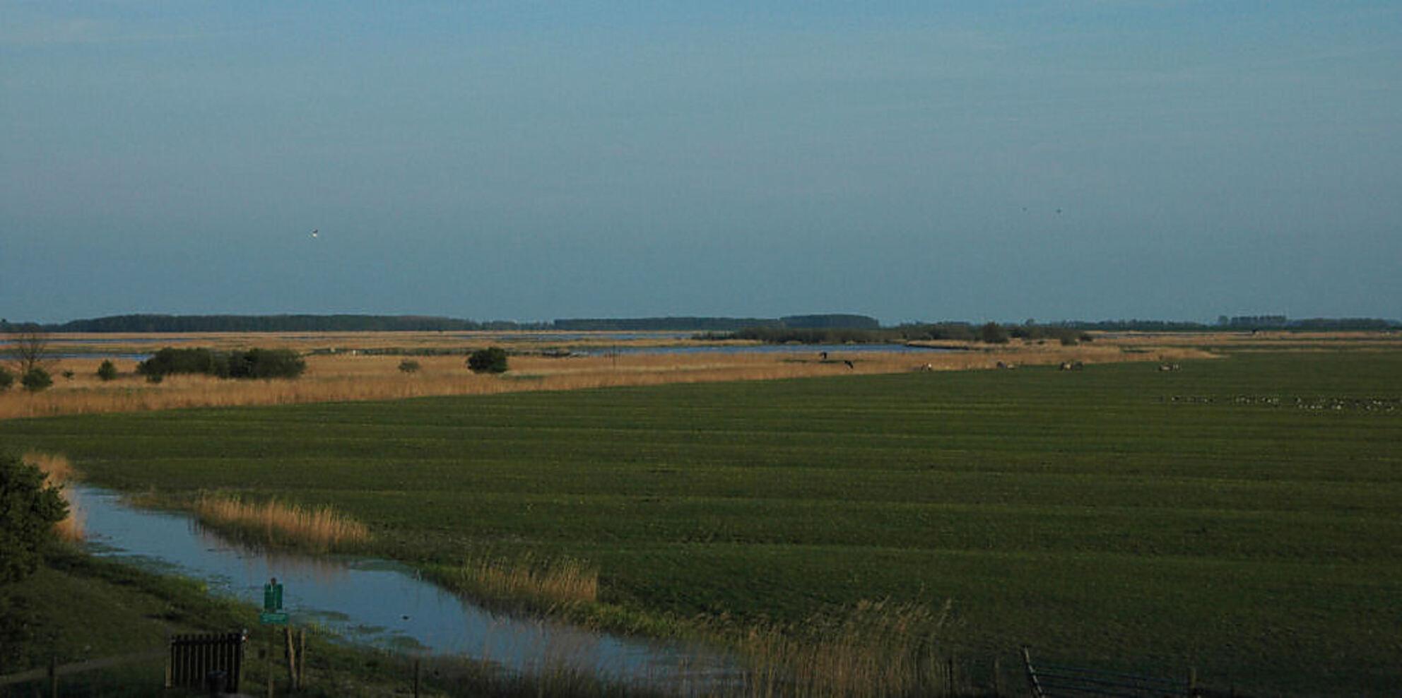 Lauwersmeer gebied bij Ezumazijl - Is misschien raar dat ik het zeg maar dit vind ik een soort van ultieme foto om dat ik helemaal gek ben van dit gebied deze is gemaakt tijdens mijn t - foto door Thomas_zoom op 08-05-2007 - deze foto bevat: gebied, lauwersmaar