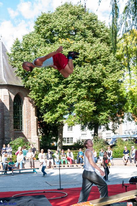 Straat acrobatiek