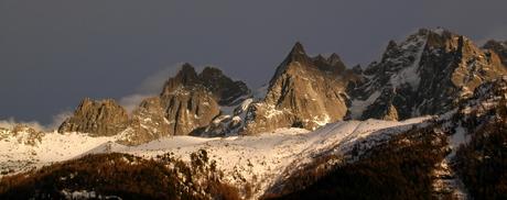 Chamonix landschap