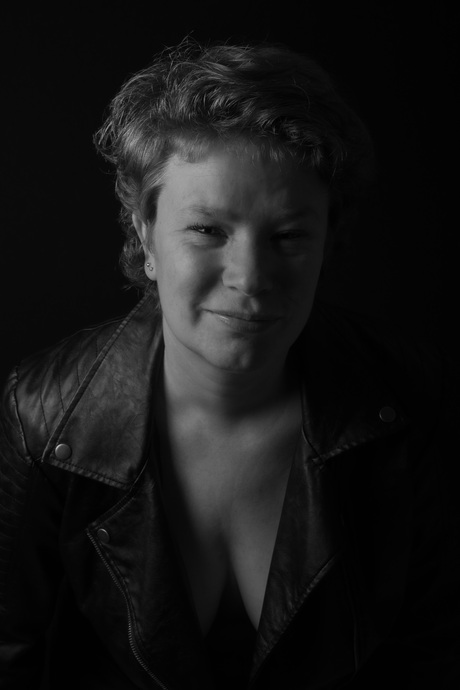 Zwart-wit portret