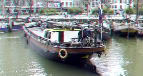 aanmeren Oude-haven Rotterdam 3D