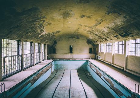 Zwembad Olympisch dorp Berlijn