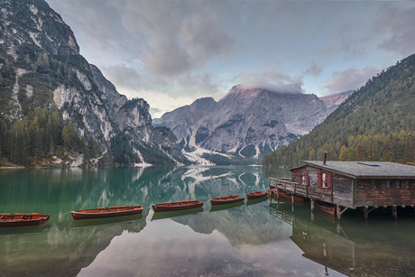 Lago di Braies - Italië
