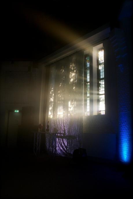 Zonlicht door raam