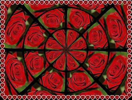 Valentijn's groet voor allen..........