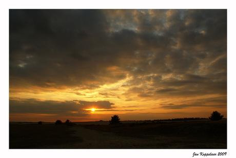 Sunset Hoge Veluwe