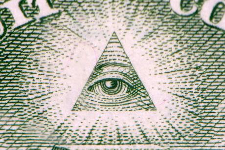 Macro 2:1 van een One Dollar