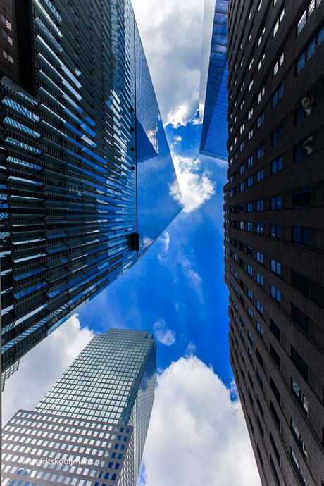 Gebouwen rond 9-11 Memorial New York