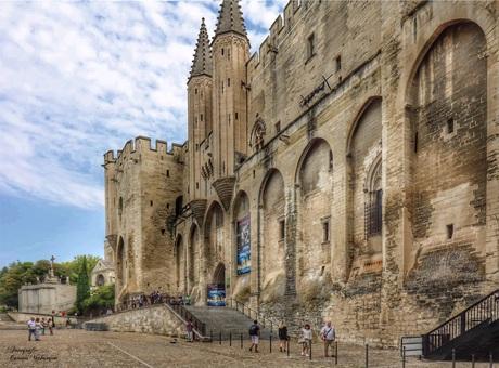 Palais des Papes in Avignon.