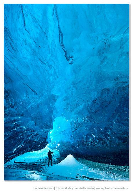 Crystal Ice Cave, IJsland