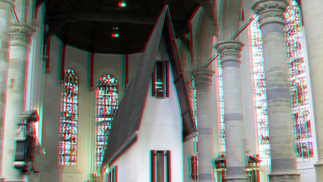 Narrow House by Erwin Wurm Nieuwe-kerk Delft 3D
