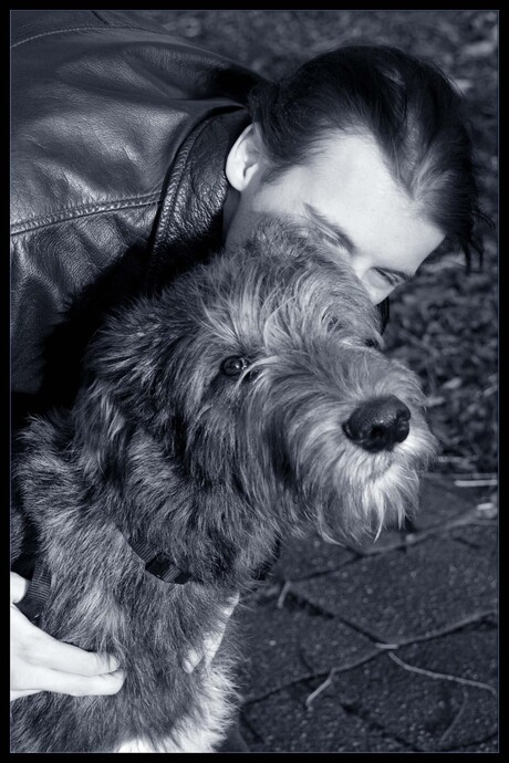 Hond en baas