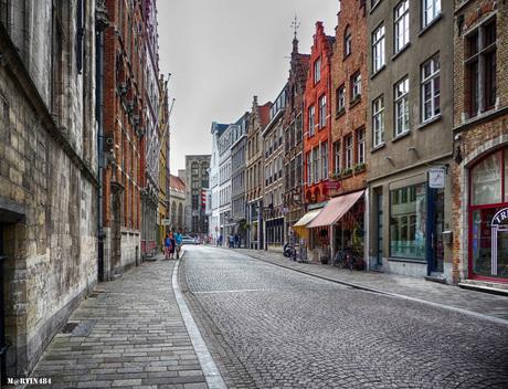 Zomaar een straatje - Brugge