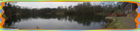 Panorama van de Oranjekom Vogelzang