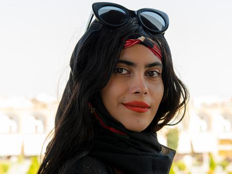 Irianian girl