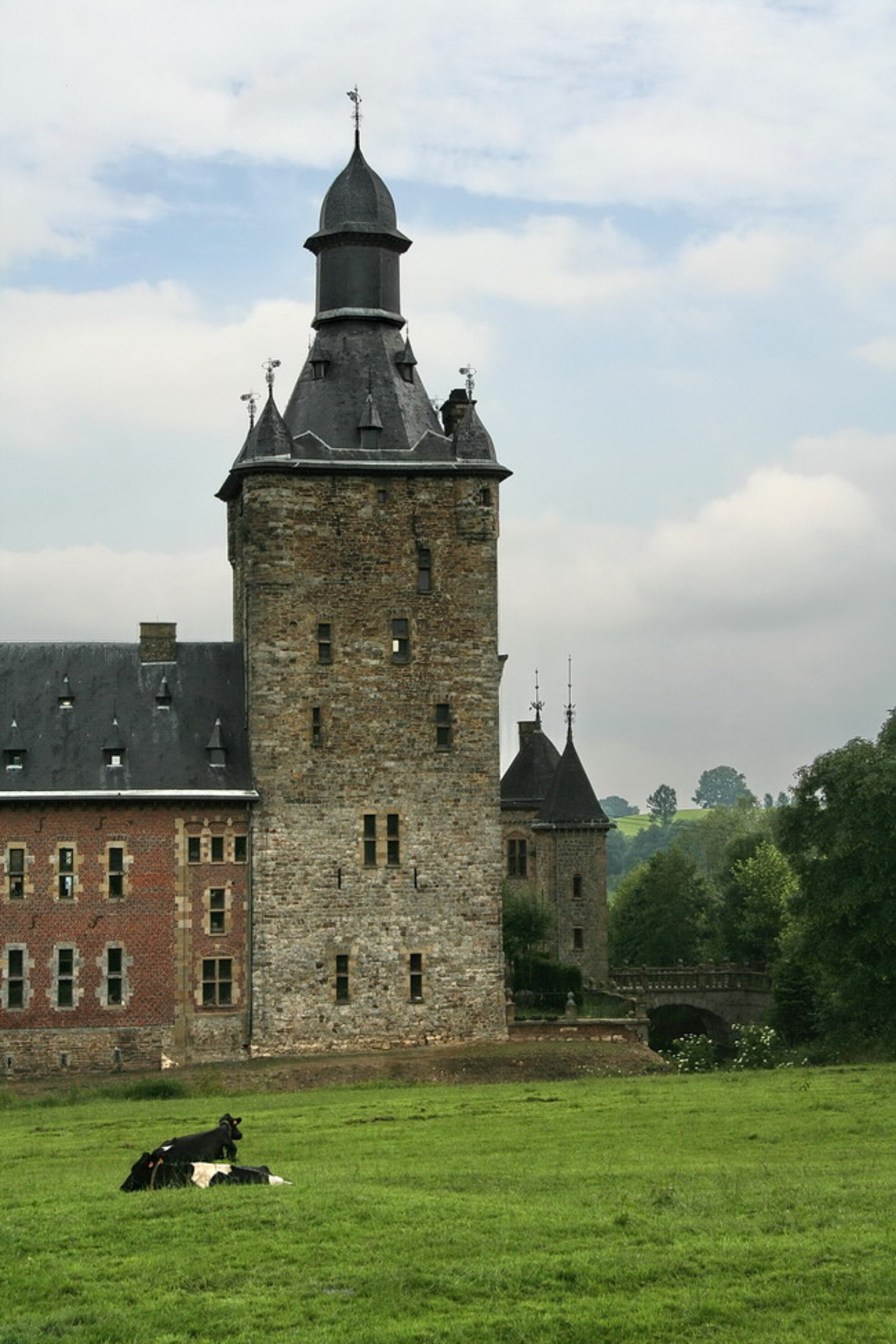 kasteel Beusdael - Dit kasteel staat net in Belgie, net onder Epen. Foto genomen tijdens een wandeling, toen we een weekend in Epen waren. Bedankt voor de reacties op - foto door ro op 23-03-2010 - deze foto bevat: kasteel, epen, beusdael, Kasteel Beusdael - Deze foto mag gebruikt worden in een Zoom.nl publicatie