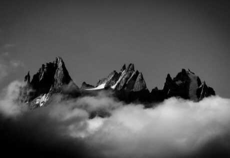 De Aiguilles van Chamonix