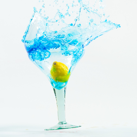bleu splash