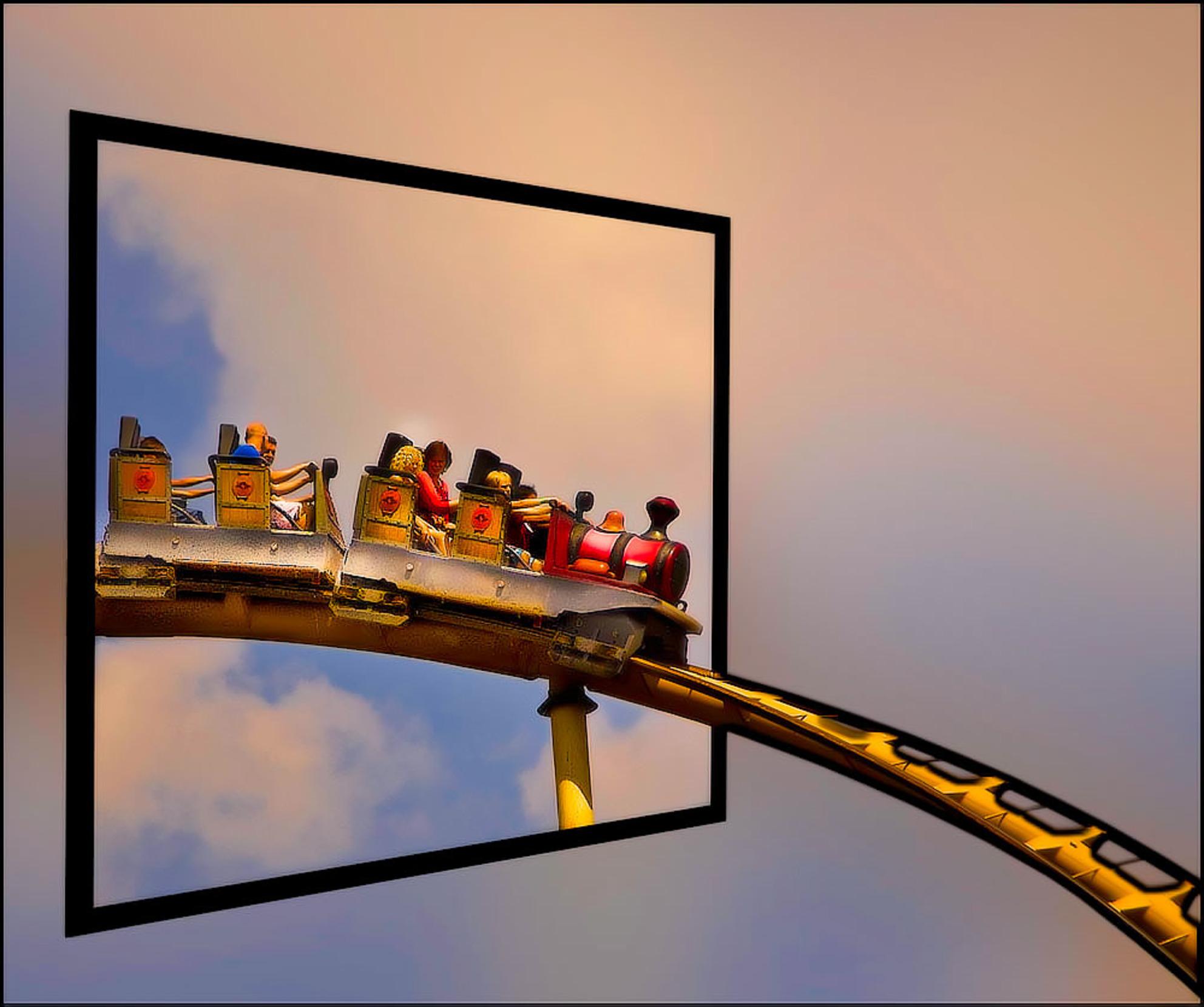 uit de bocht vliegen................... - en zó het kader uit................ - foto door alizoom op 28-11-2020 - Deze foto mag gebruikt worden in een Zoom.nl publicatie