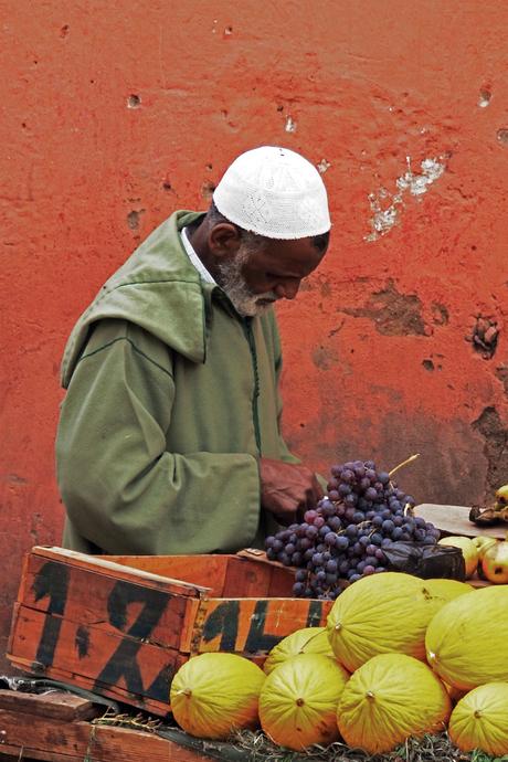Fruitverkoper Marokko
