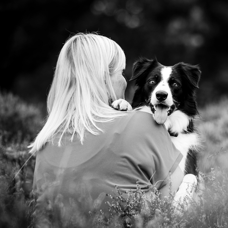 Hond en baasje
