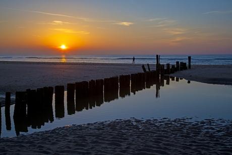 Sunset bij De Kerf