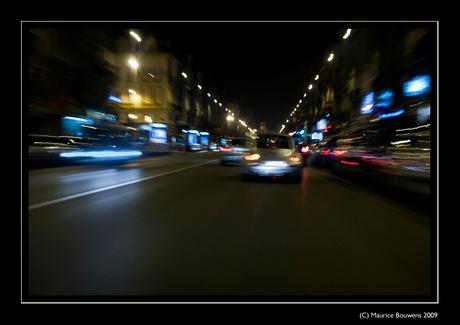 Snel door Brussel Kleur