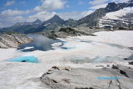 Bergmeer in de Oostenrijkse alpen